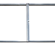Калитки и ворота Econom с полимерным покрытием