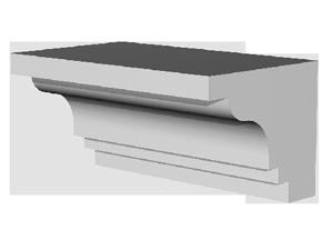 Фасадные декоративно-функциональные элементы
